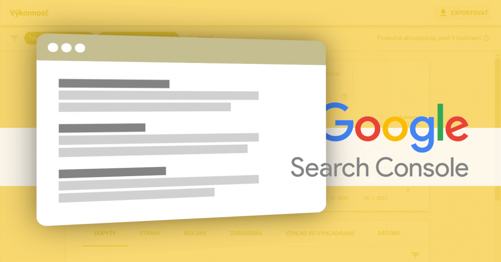 Google Search Console impressions impresie